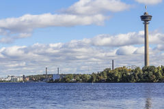 City view. In western Finland royalty free stock photography