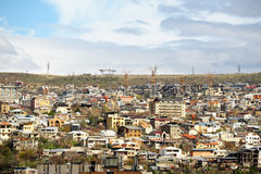 City view of Yerevan Royalty Free Stock Images