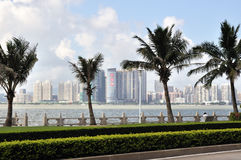 The City view of zhuhai Stock Photos
