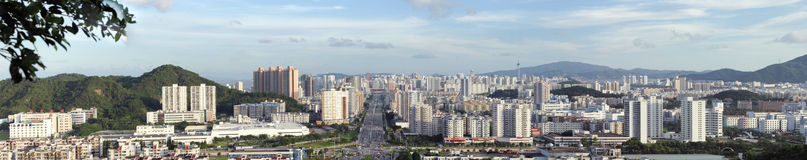 The City view of zhuhai Royalty Free Stock Image