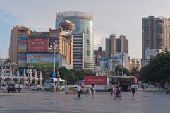 The City view of zhuhai Royalty Free Stock Images