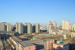 City views. Views of the Chinese capital of Beijing Stock Images