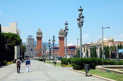 City views of Barcelona Royalty Free Stock Images
