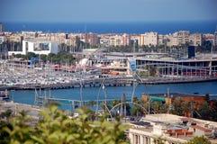 City views of Barcelona Royalty Free Stock Photo
