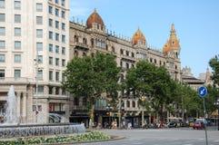 City views of Barcelona Royalty Free Stock Photography