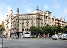 City views of Barcelona Stock Photography