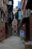 City views of Bhaktapur Royalty Free Stock Photos
