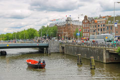 City views in the center of Amsterdam Stock Images