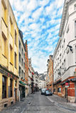 City views cozy European cities - Brussels, Belgium. Royalty Free Stock Photography