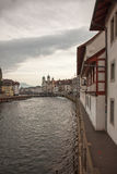 City views from downtown Luzern (Lucerne), Switzerland Royalty Free Stock Photography
