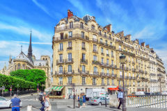 City views of one of the most beautiful cities in the world-Par Royalty Free Stock Images