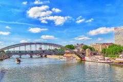 City views of one of the Paris. Royalty Free Stock Photography