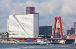 City views Rotterdam Stock Images