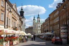 City views of Warsaw Stock Image