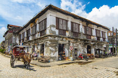 The City of Vigan Stock Images