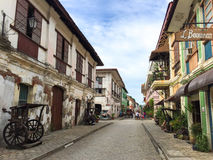 The City of Vigan Stock Image