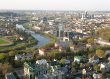 City of Vilnius (Lithuania) Stock Photography