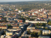 City of Vilnius (Lithuania) Royalty Free Stock Photos