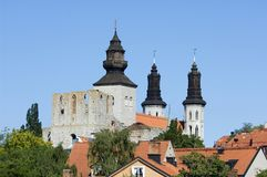 City of Visby Royalty Free Stock Photos