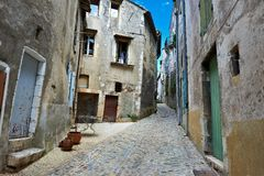 City of Viviers Stock Image