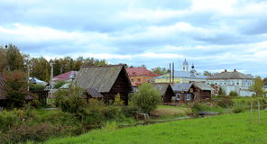 City on the Volga Royalty Free Stock Photography