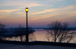 The city on the Volga Royalty Free Stock Photos