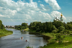 City Vologda Royalty Free Stock Photos