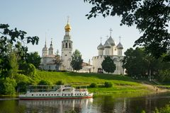 City Vologda Royalty Free Stock Images
