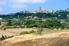 City of Volterra Royalty Free Stock Images