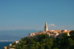City Vrbnik Royalty Free Stock Image