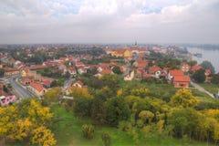 City of Vukovar. Beautiful city Vukovar in Slavonija in Croatia. Photo after war royalty free stock image