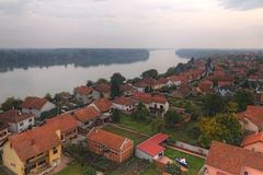 City Vukovar. Near river Danube Royalty Free Stock Images