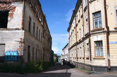 City of Vyborg Stock Image