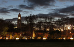 City Wakening up. Palmerston North city early morning wakening up Stock Photo