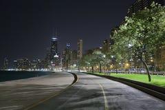 City walkway Royalty Free Stock Photos