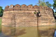 City Wall of Chiang Mai Stock Images