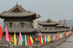 The City Wall of Datong Royalty Free Stock Photos
