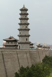 The City Wall of Datong Royalty Free Stock Image