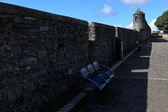 The City Wall of Derry in Northern Ireland Stock Images
