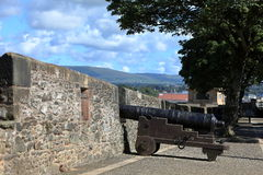 The City Wall of Derry in Northern Ireland Stock Photos