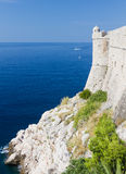 City wall of Dubrovnik, Croatia Stock Photography