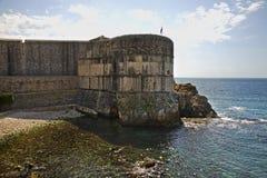 City wall in Dubrovnik. Croatia Royalty Free Stock Photo