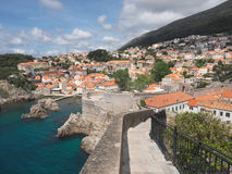 The City Wall of Dubrovnik, Croatia Stock Image