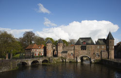 City wall gate Amersfoort Stock Photography