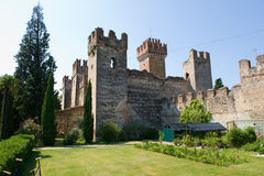 City Wall of Lazise Royalty Free Stock Photos
