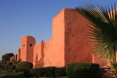 City wall in Marrakech Stock Image