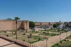 City wall in Meknes, Morocco. Africa Stock Photography