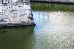 City wall and moat Stock Photography