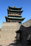 The City Wall of Pingyao Stock Photography