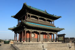 The City Wall of Pingyao Royalty Free Stock Images